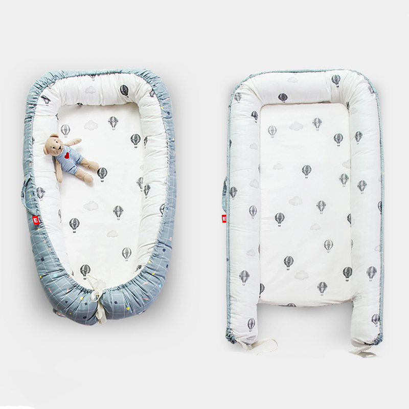 Portable Crib For Baby Cotton Sleeping Basket Newborn Infant Protection Bumpers Bedclothes Stuff YHM008