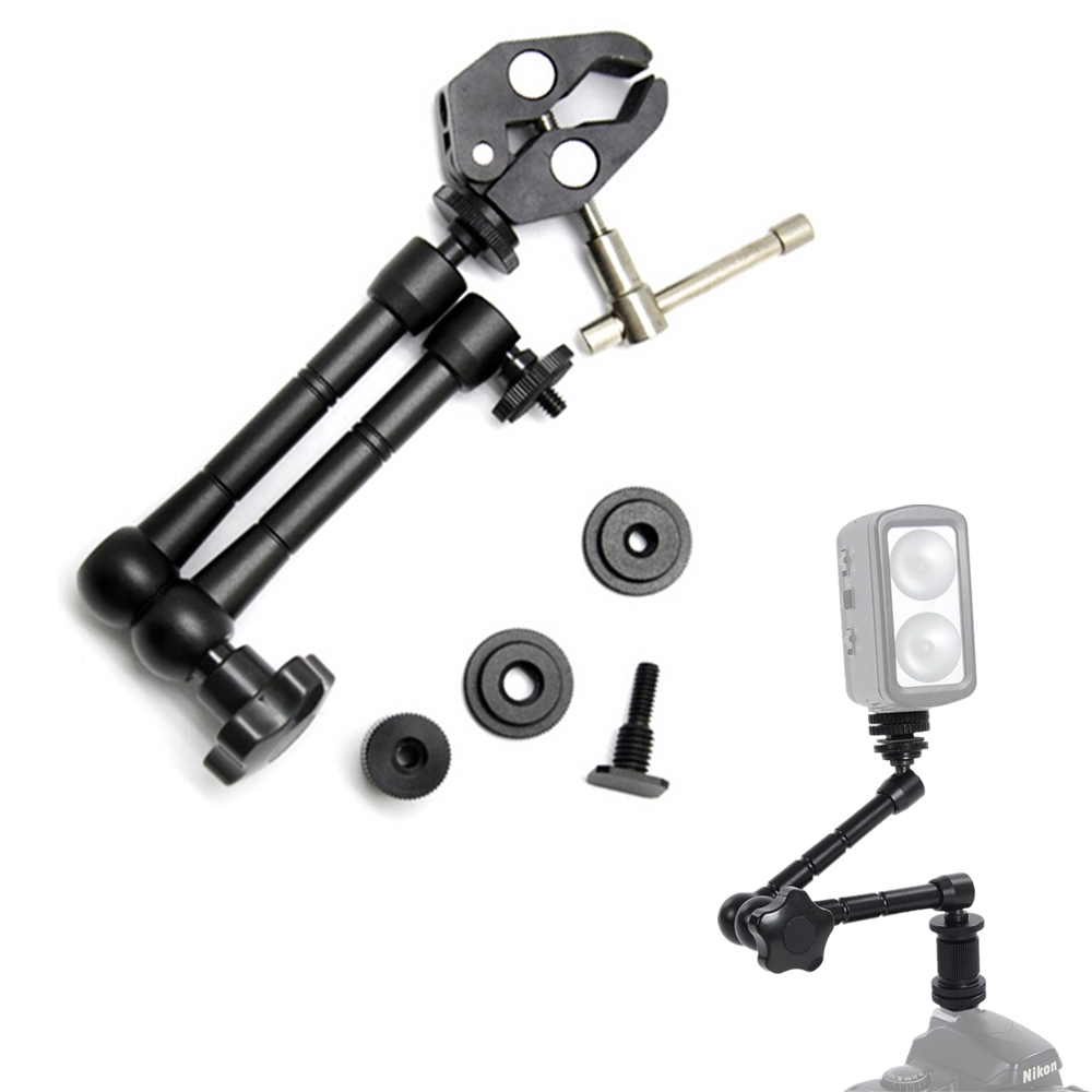 7/11 Adjustable Friction Articulating Magic Arm & Super Clamp For Viltrox Monitor DC-70EX DC-90HD LED Light L132T L116T L162T image