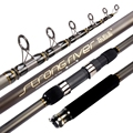2021NewTelescopic Fishing Rod 2.4m Carbon Fiber XH Rock Fishing Pole Spinning Rod Ocean Boat Fishing Distance Throwing Rod