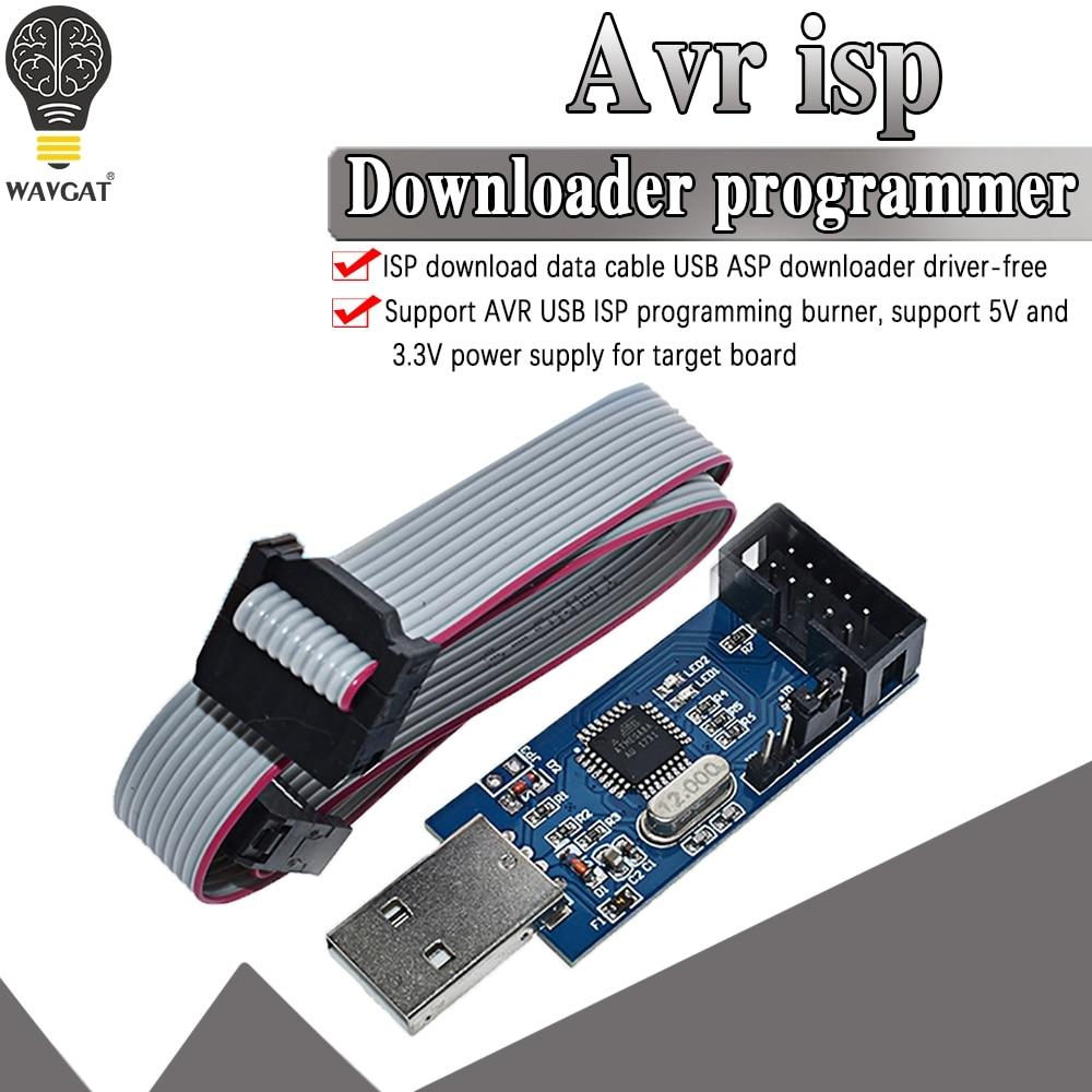 official USBASP USBISP AVR Programmer USB ISP USB ASP ATMEGA8 ATMEGA128 Support Win7 64|avr programmer|usb ispisp programmer - AliExpress