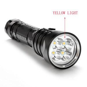 Image 5 - SolarStorm DX4S LED Diving Flashlight IPX8 Waterproof 4xXM L L2 3 Mode 4500 Lumens 26650 Submarine Dive Torch Lamp