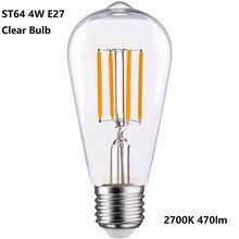 Светодиодсветодиодный лампы Эдисона в винтажном стиле эквивалентные