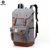 OZUKO 2021 Die Neue Hohe Qualität Große Kapazität Bagpack Laptop Tasche Casual Männer Rucksack Mode Unisex Frauen rucksack Reisetaschen