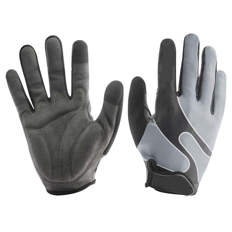 Mesh Breathable Thin Section Finger Men And Women Gloves Gym Dumbbells Skid Sports Riding