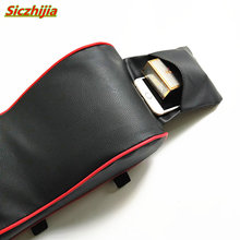 Car center console leather armrest pad for Kia Rio K2 K3 K5 K4 Cerato,Soul,Forte,Sportage R,SORENTO,Mohave,OPTIMA(China)