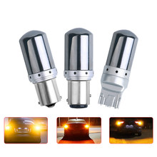 High power LED S25 1156 BA15S P21W T20 7440 W21W 1157 BAY15D P21 5W 21W car led turn signal lights canbus auto brake lamp 12-15v
