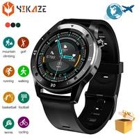 Reloj inteligente deportivo F22S para hombre y mujer, pulsera con rastreador de fitness, presión arterial, regalo para Android e ios, novedad de 2020