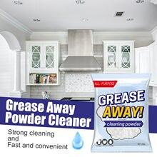 1pc uniwersalny środek do czyszczenia proszek do czyszczenia wielofunkcyjny odrdzewiacz Greaseaway proszek do czyszczenia domu sprzątanie kuchni akcesoria