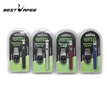 100pcs VERTEX CBD Preheat Battery 510  Adjust Voltage 350mah 900mah 1100mah preheat battery Fit With Ce3 92a3 Vape Vaporizer Pen