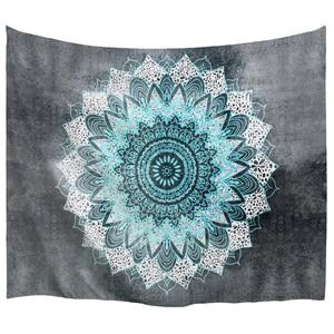 Image 1 - PROCIDA Mandala Tapeçaria Tapeçaria de Arte Tecido de Poliéster Padrão Tema, Decoração Da Parede para o quarto de Dormitório, Quarto, Prego incluído