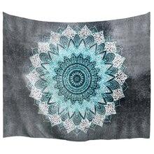 PROCIDA Tapijt Muur Opknoping Art Polyester Stof Mandala Patroon Thema, Muur Decor voor Dorm, Slaapkamer, Nail inbegrepen