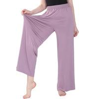 Pantalones de Casa de talla grande para mujer, Pijama de algodón, pantalones de pierna ancha, pantalones casuales holgados de alta elasticidad, ropa de casa para dormir