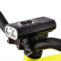 NITENUMEN 1800Lumens Bike Front Light Cycling Headlight Bicycle Rechargeable Flashlight Waterproof 6800mah Led Head Lamp For M|Bicycle Light|   -
