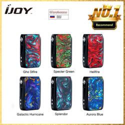 Оригинал IJOY Shogun Univ 180 W TC MOD работает от двух 18650 батарей и большой пожарной кнопки e-cig вэйпы VS Drag 2/Aegis Solo