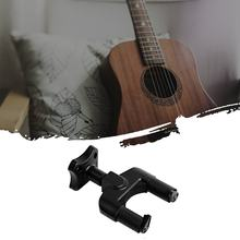 2020 Hitam Gitar Pemegang Kait Gantungan Dinding Mount Stand Rak Bracket Display Kuat Fixed Wall Gitar Bass Sekrup Aksesoris(China)
