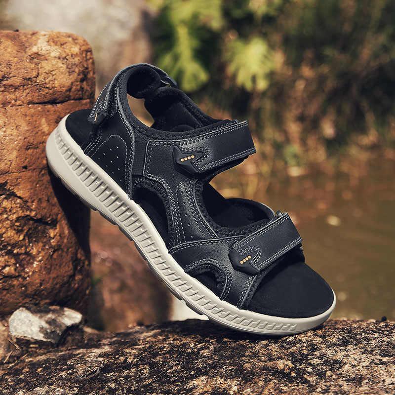 CARTELO scarpe degli uomini di estate nuovi sandali di tendenza degli uomini di versione Coreana aumentato sport casuali traspirante scarpe da spiaggia