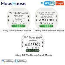 Relay-Module Alexa Google Home Switch Breaker Dimmer Remote-Control Work Wifi Smart Wireless