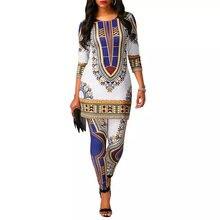 Женская одежда с принтом Дашики md платья размера плюс 5xl для