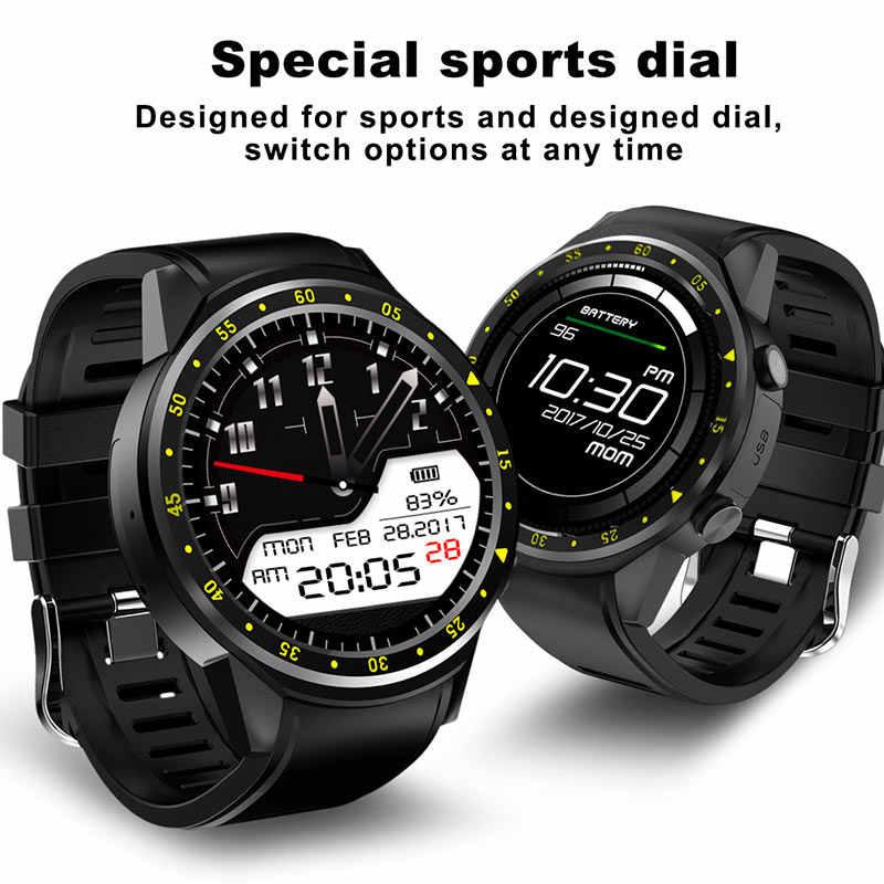 GPS montre intelligente hommes avec carte SIM caméra F1 montres intelligentes détection de fréquence cardiaque Sport téléphone connecté montre android iOS horloge