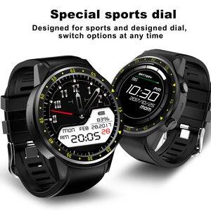 Image 4 - Reloj inteligente deportivo F1 con GPS para hombre, reloj inteligente deportivo con tarjeta SIM, control del ritmo cardíaco y conexión android iOS teléfono móvil
