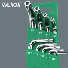 LAOA CR V altıgen anahtarı Hex Allen anahtarı orta delik tornavida