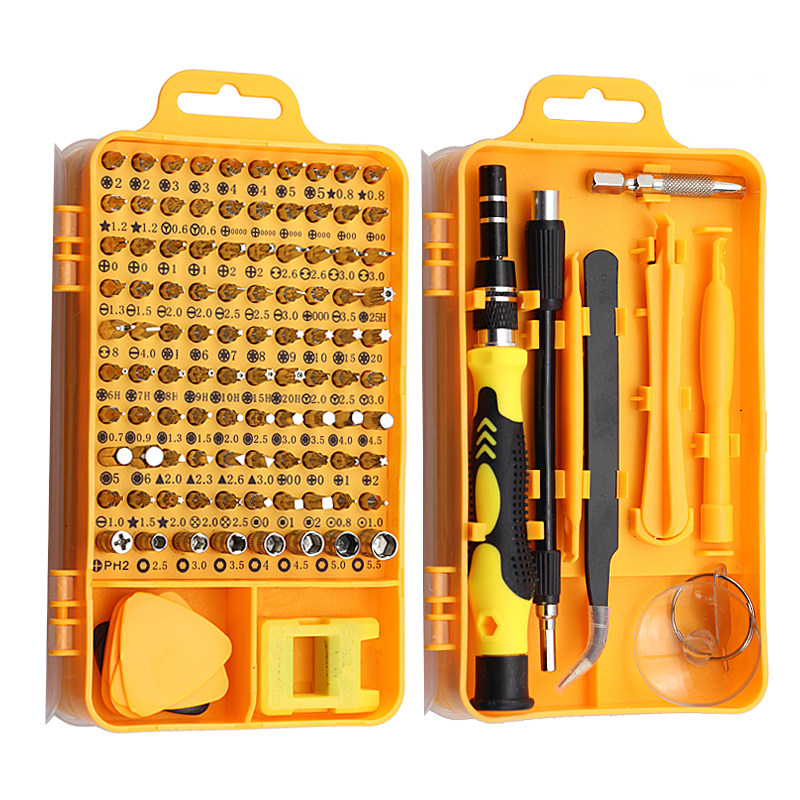 115/25 In 1 Screwdriver Set Mini Precision Screwdriver For Computer PC IPhone Cellphone Tablet Device Repair Hand Home Tools