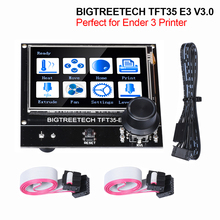 BIGTREETECH pantalla táctil TFT35 E3 V3.0, pantalla LCD 12864, BTT TFT35, piezas de impresora 3D para Ender3, actualización CR10 SKR MINI E3 Board