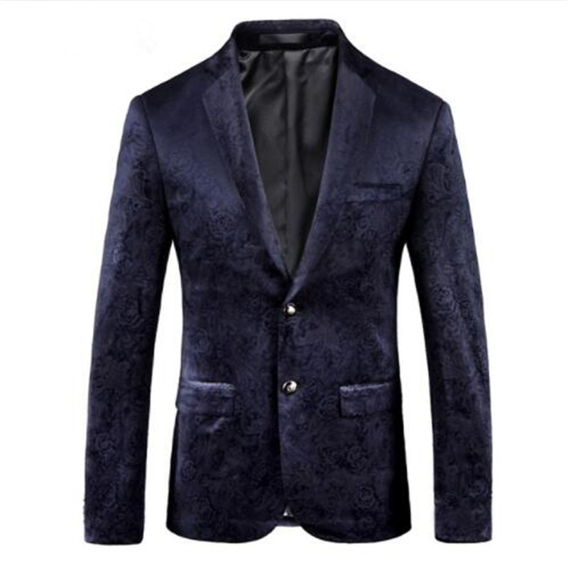 2018 New Arrival High Quality Printed Casual Blazers Men,men's Casual Suits,printed Men's Jackets Plus-size