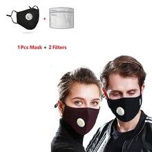 Máscara facial útil Filtro de 5 capas PM2.5 Almohadilla de filtro de máscara