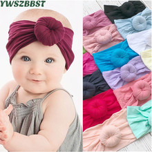 Spring Autumn Baby Headband Soft Elastic Cotton Hairbands Infant Scarf Girls Hair Band Baby Girl Headbands Hair Accessories korea hair accessories wool weaving wide side toothed hairbands sweet headband hair band headbands for girls