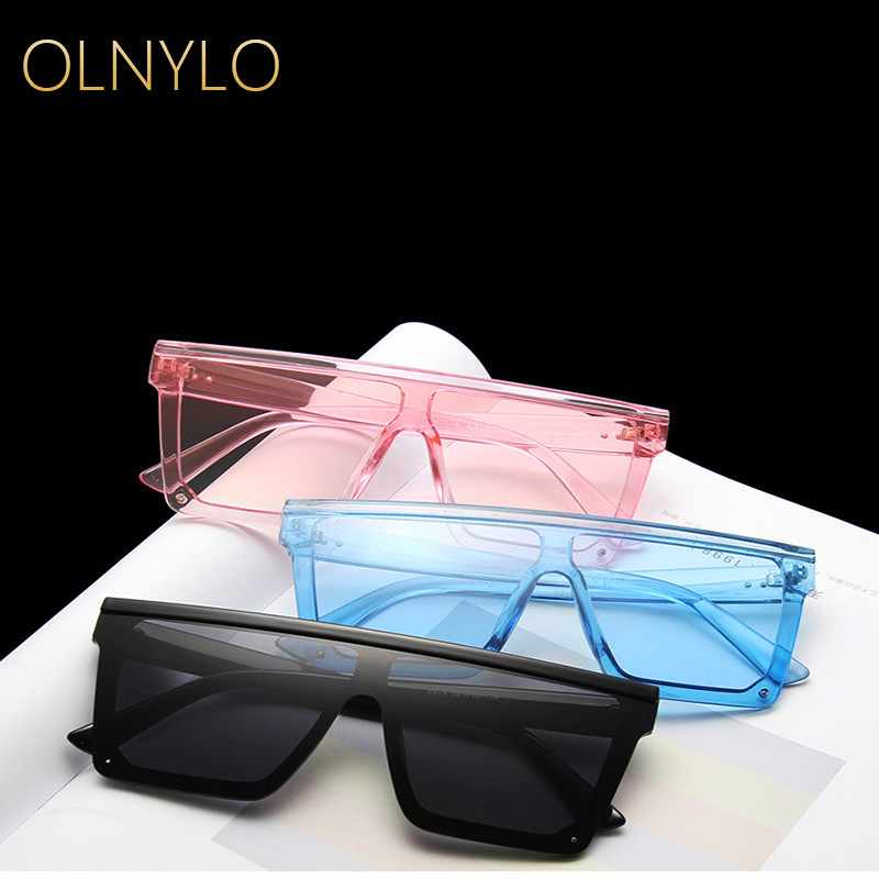Men And Women Fashion Trendy Big Frame Conjoined Sunglasses Personality Hot Selling Outdoor Beach Travel Glasses Wholesale