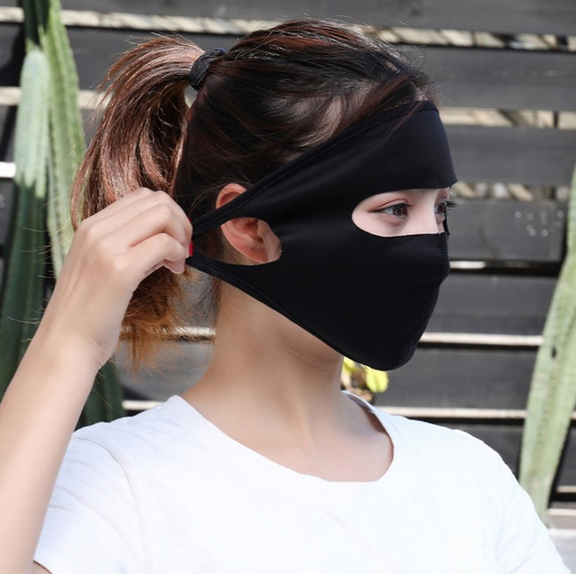 1 Pcs Black Anti Dust Mask Unisex Outdoor Anti-Fog Mouth Face Mask Healthy Protective Mask D30