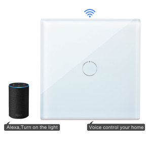 Image 4 - Bingoelec 1 Gang 1 Way WiFi Smart Switch Crystal Glass Panel Wall Light Switch Smart Home Automation Wireless Work For Tuya APP