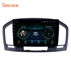Image 1 - Seicane 9 inch 2din Android 8.1 Car Head Unit Radio Audio GPS Multimedia Player for 2009 2010  2013 Buick Regal support Carplay