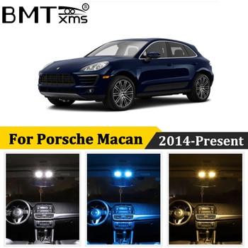 BMTxms 9Pcs Canbus Car LED Interior Map Dome Light For Porsche Macan S Turbo 2014-Present Auto Accessories 1