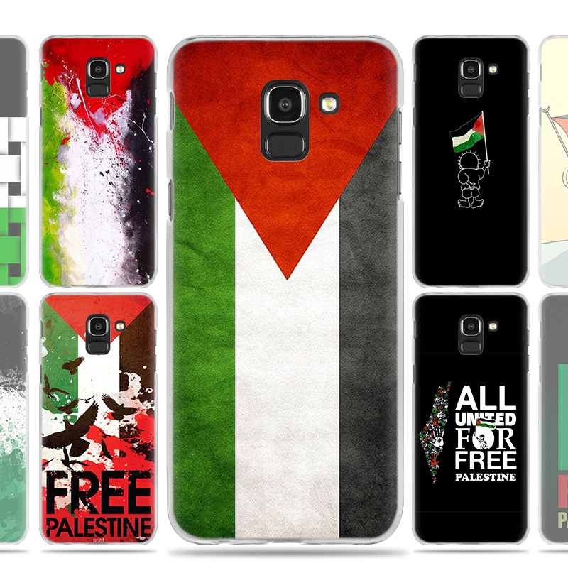 Palestine <font><b>Flag</b></font> Case Cover for <font><b>Samsung</b></font> Galaxy A50 A80 A70 A60 A40 A30 A20 A20e <font><b>A10</b></font> A9 A7 A6 Plus 2018 Note 8 9 10 Pro image