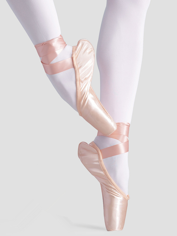 Shoes Ballet-Dance-Shoes Pointe Girls Adult Women Professional Satin with Ribbon Ladies