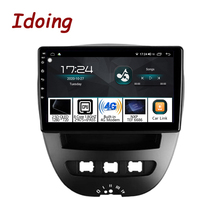 Toyota Aygo 107 2005 용 Peugeot 2014 용 Android Car Radio 멀티미디어 비디오 플레이어 GPS 네비게이션 스테레오 헤드 유닛 NODVD