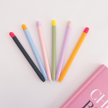 Candy Color Soft Case for  Pencil 2 Gen Silicone Cover for  Pencil 2 Cap Nib Touch Pen Stylus Protector Cover