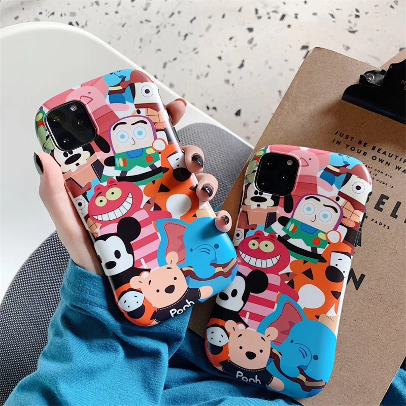 Cute Cartoon <font><b>Toy</b></font> <font><b>Story</b></font> Phone case <font><b>fundas</b></font> For <font><b>iPhone</b></font> 11 Pro Max X XR XS 8 7 Plus SE cases soft protection cover Accessories coque image