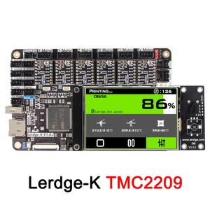 """Image 5 - 3DSWAY 3D Printer Motherboard LERDGE K ARM 32Bit Controller Board  with 3.5"""" Touch Screen DIY Parts WIFI Control Mainboard"""