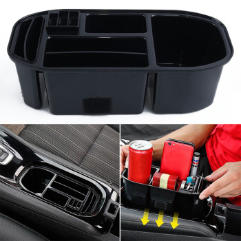 цена на ABS Car Water Cup Holder Storage Box Container Tray For Honda Vezel HR-V HRV