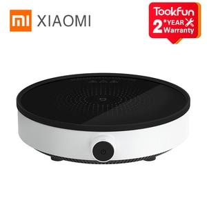Image 1 - XIAOMI MIJIA 電磁調理器青年版スマート電気オーブンプレートクリエイティブ正確な制御炊飯器コンロコンロプレート鍋