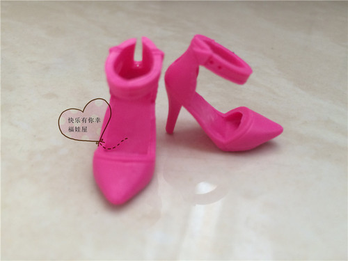 1/6 Doll shoes Single shoes, flat feet, sneakers, sandals, slippers flats for Barbie Doll shoes 1/6 7