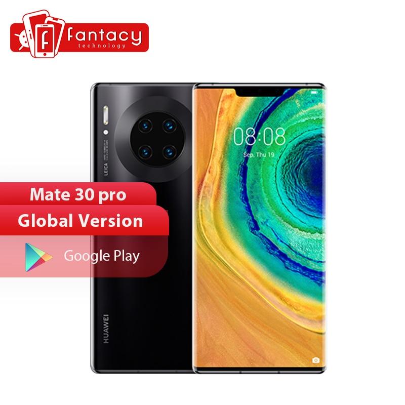 Global Version HUAWEI Mate 30 Pro 8GB 128GB 256GB Smartphone 40MP Triple Cameras 32MP Front Camera 6.53'' Screen Kirin 990
