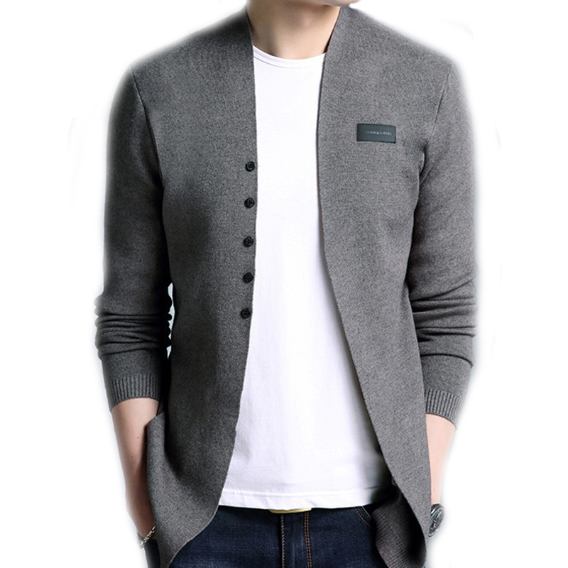 Cardigan Men Casual Knitted Cotton Wool Sweater Men Clothes 2020 Autumn Winter New Mens Sweaters and Cardigans Coat J942