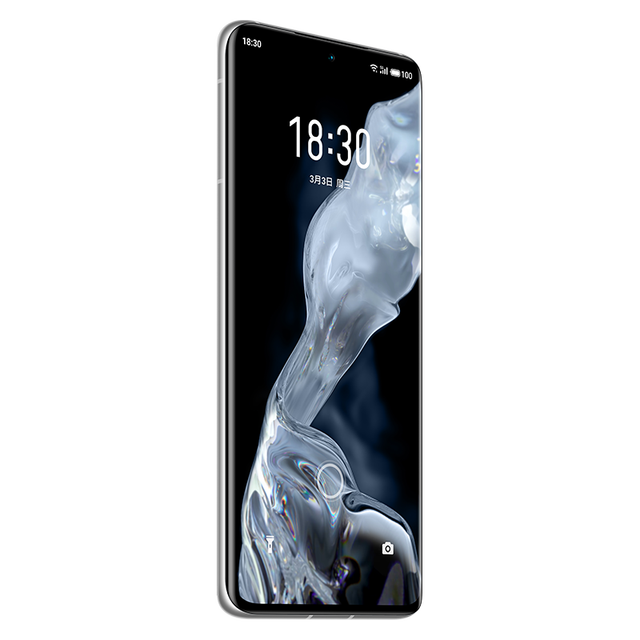 """In Stock Meizu 18 5G Smart Phone 30W Fast Charger Snapdragon 888 Android 10.0 GPS Screen Fingerprint 64.0MP 6.2"""" 120HZ AMOLED 5"""
