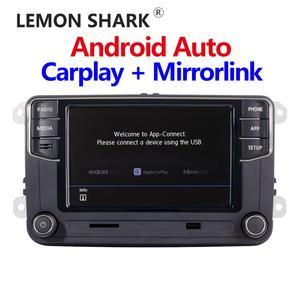 Image 2 - 안드로이드 자동 NONAME Carplay Mirrorlink MIB 자동차 라디오 새로운 RCD330 RCD360 187B 280D 280E VW MQB POLO 6C 전용 차량 상태