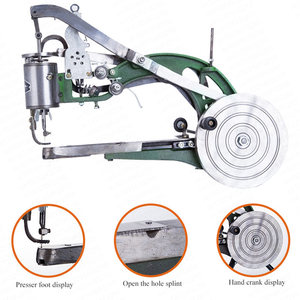 Image 4 - 中国パッチャーマニュアル靴製造機パッチ修復機器革の縫製