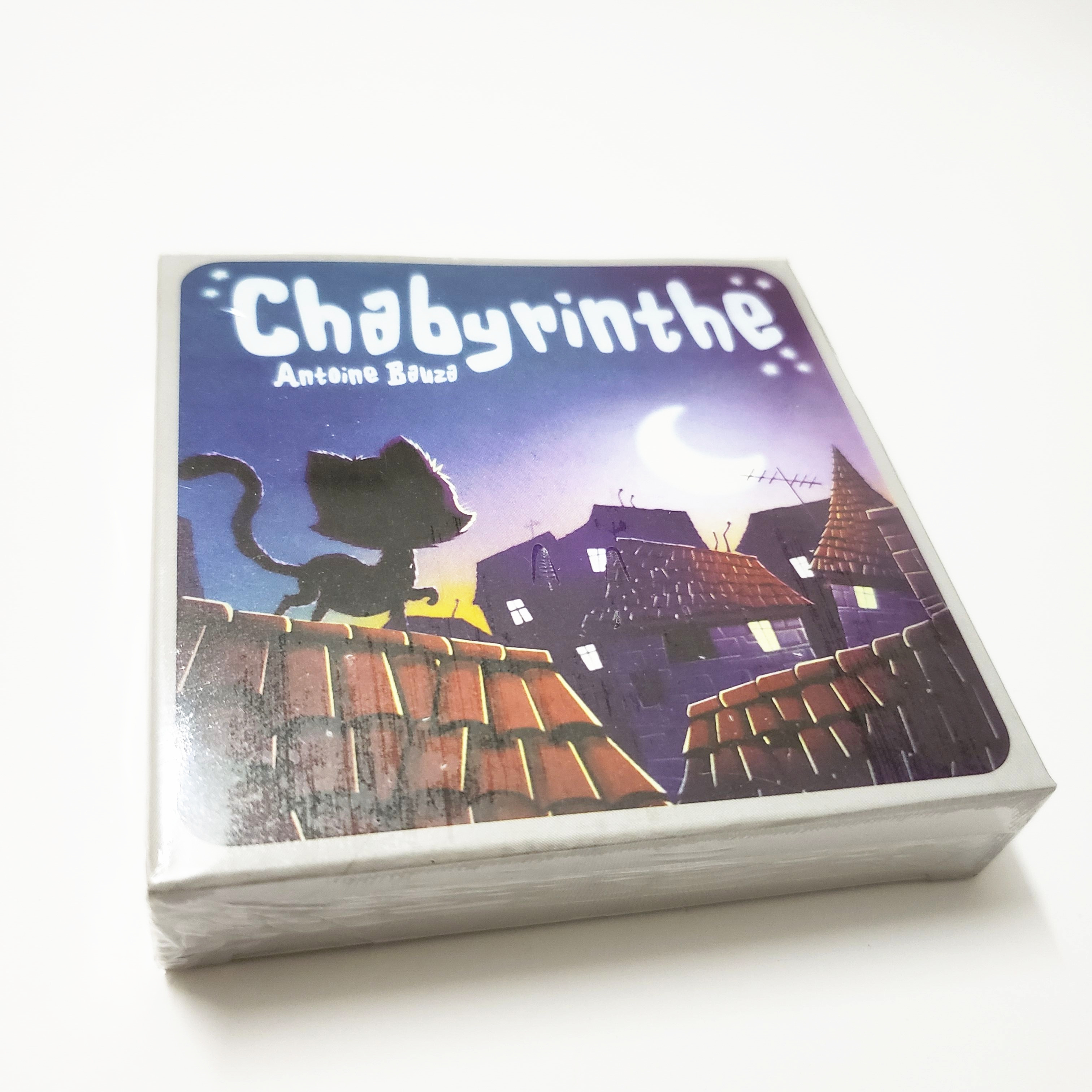 New Chabyrinthe  Board Game Full English Version For Home Party Adult Financing Family Playing Cards Game 43 Cards